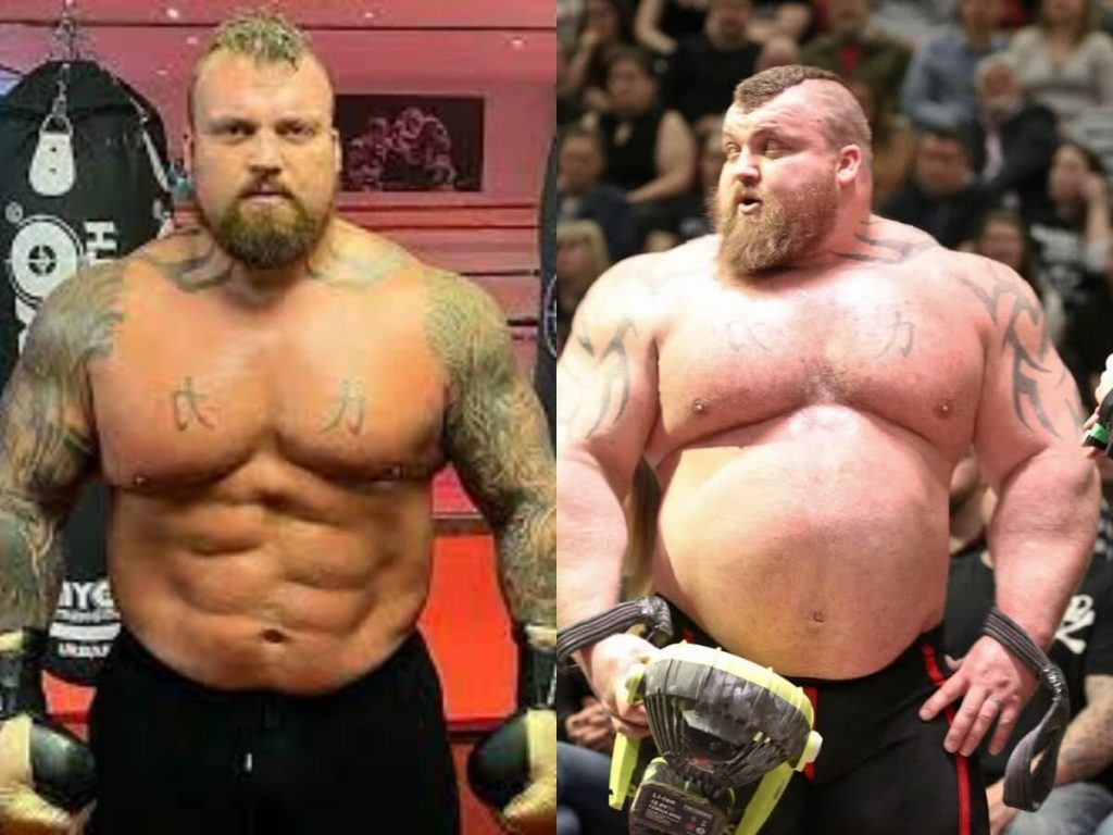 How Tall is Eddie Hall?